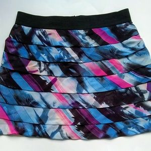 Guess multi colored skirt